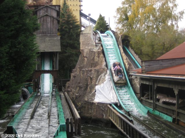 Wildwash Creek Phantasialand Germany European Water