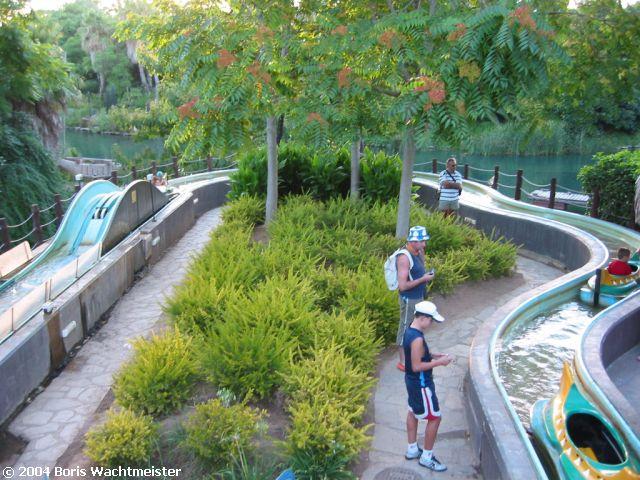 Canoes - Port Aventura - Spain - European Water Ride DataBase